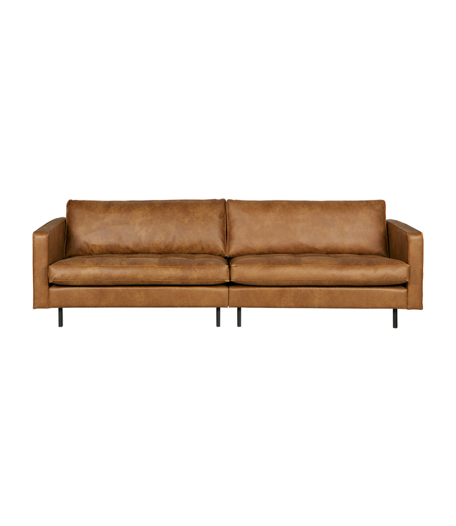 BePureHome Rodeo classic sofa 3-seater cognac