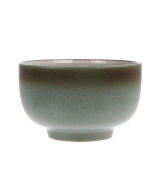 HKliving Keramik 70ern Schüssel Moon Large