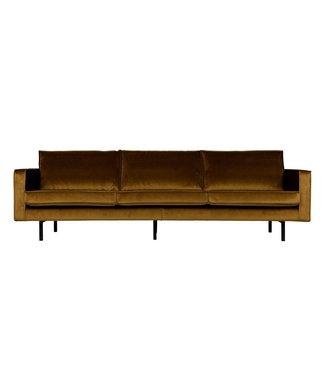 BePureHome Rodeo Sofa 3-Sitzer Honiggelb