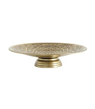 Bloomingville Tortenständer Gold Metall
