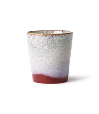 HKliving Keramik 70ern Tasse Frost