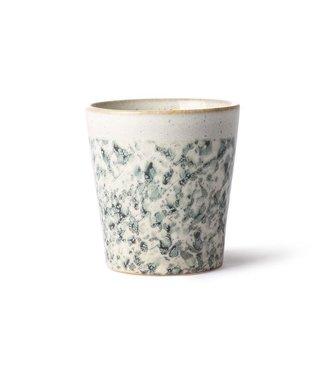 HKliving Keramik 70ern Tasse Hail