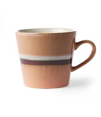 HKliving Keramiktasse Cappucino 70ern Stream