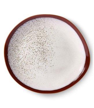 HKliving Essteller Frost Keramik 70ern