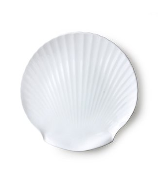 HKliving Athena ceramics: Bone China Shell Serviertablett