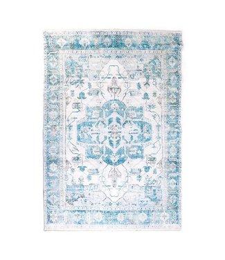 By-Boo Teppich Alix 160x230cm Blau