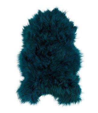 Dyreskinn Schaffell isländisch grün 90-110cm