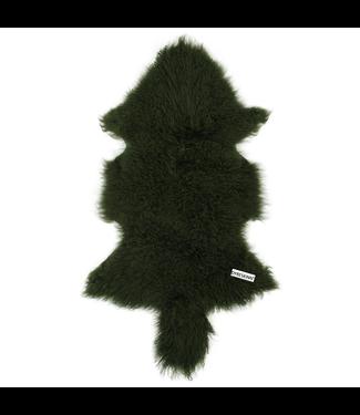 Dyreskinn Schaffel Tibetan Grün 80-90 cm