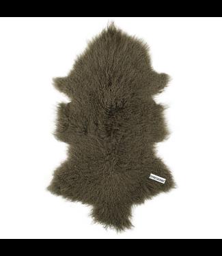 Dyreskinn Schaffel Tibetan Grau 80-90 cm