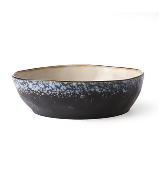 HKliving Nudelschüssel Galaxy Keramik 70ern