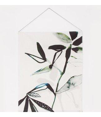 Urban Nature Culture Wanddeko Baumwolle - Leaf