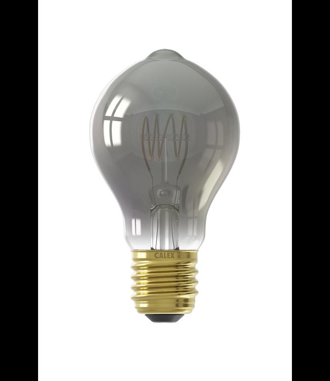Calex Calex LED Full Glass Flex Filament GLS-lamp 240V 4W 100lm E27 A60DR, Titanium 2100K Dimmable