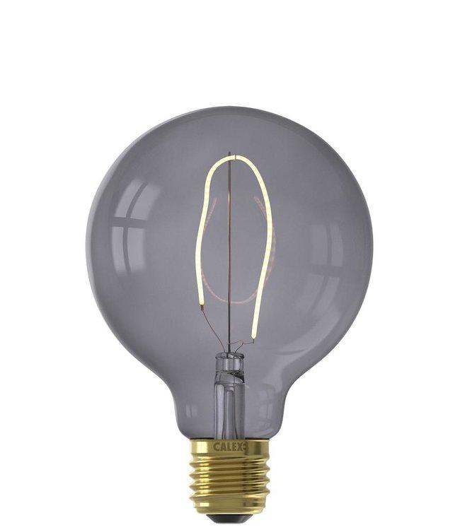 Calex LED Nora E27 G95 Grau 130 Lm