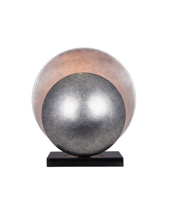 Globen Lighting Tischleuchte Orbit Silber