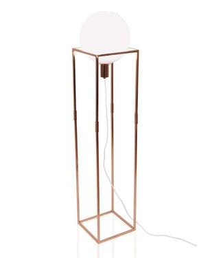 Globen Lighting Stehleuchte Cube Kupfer