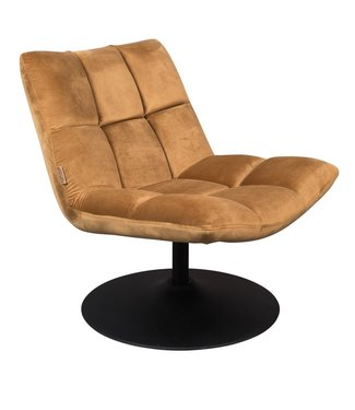 Dutchbone Lounge Chair Bar Samt Braun