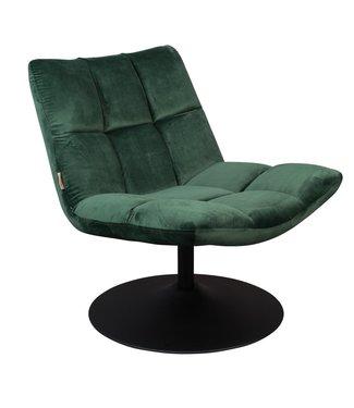 Dutchbone Lounge Chair Bar Samt Grün