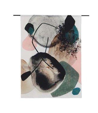 Urban Cotton Wandteppich Splash M 145x110cm
