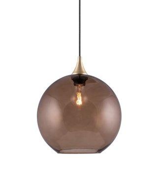 Globen Lighting Pendelleuchte Bowl Braun