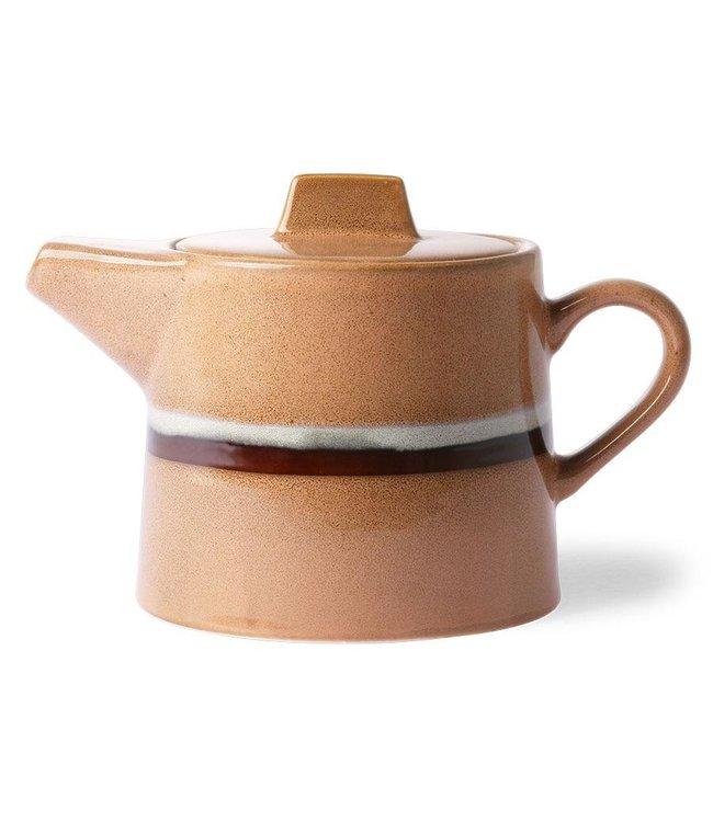 HKliving Keramik 70ern Teekanne: Stream