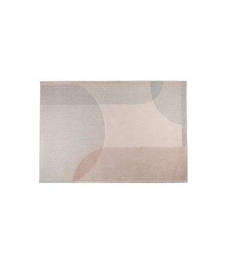 Zuiver Teppich Dream 160x230 Natur/Rosa