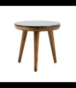Tisch Marmor Schwarz - Medium