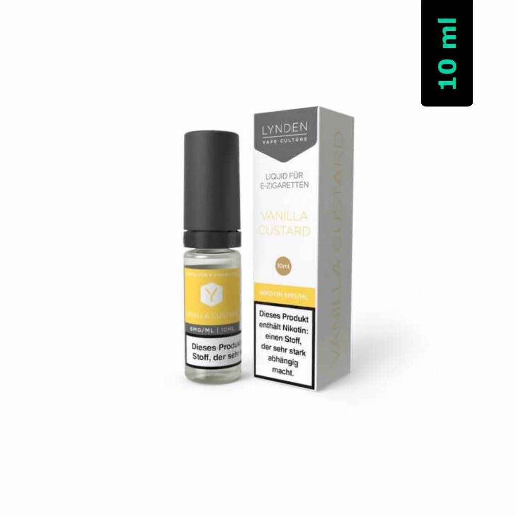 Lynden Vanilla Custard MTL E-Liquid 10 ml
