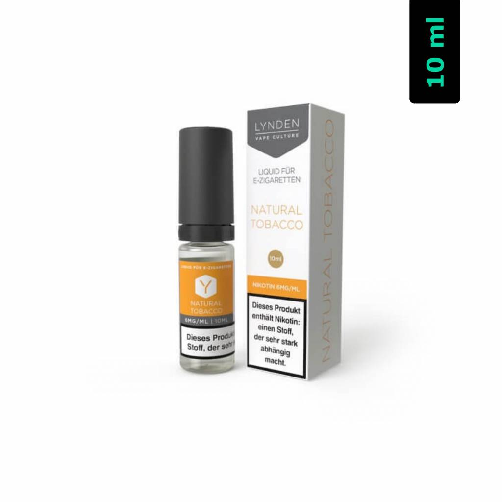Lynden Natural Tobacco MTL E-Liquid 10 ml