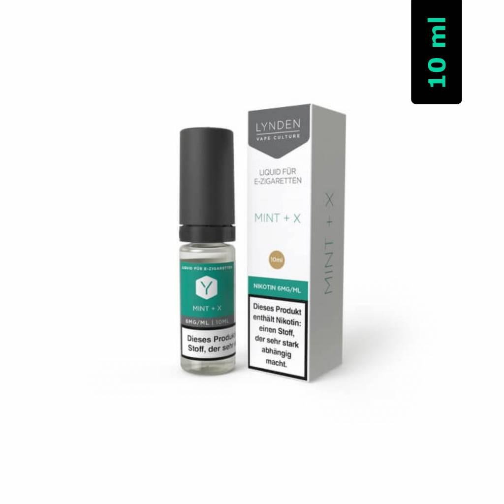 Lynden Liquids & Hardware Mint + X MTL E-Liquid 10 ml