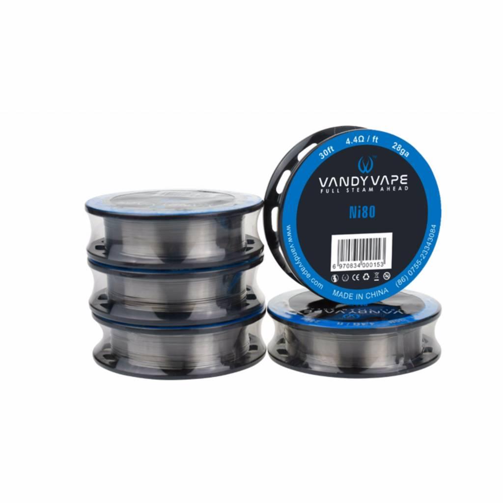 Vandy Vape Ni80 Draht für deinen RDA / RTA