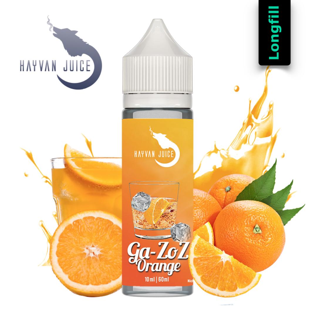 Hayvan Juice Gazoz Orange Longfill Aroma