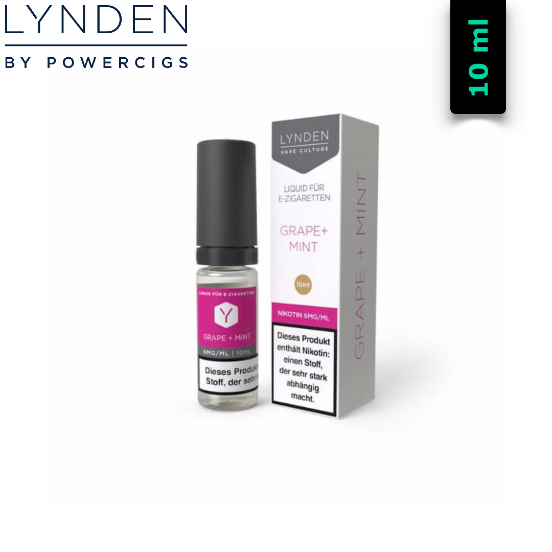 Lynden Grape + Mint Liquid 10 ml