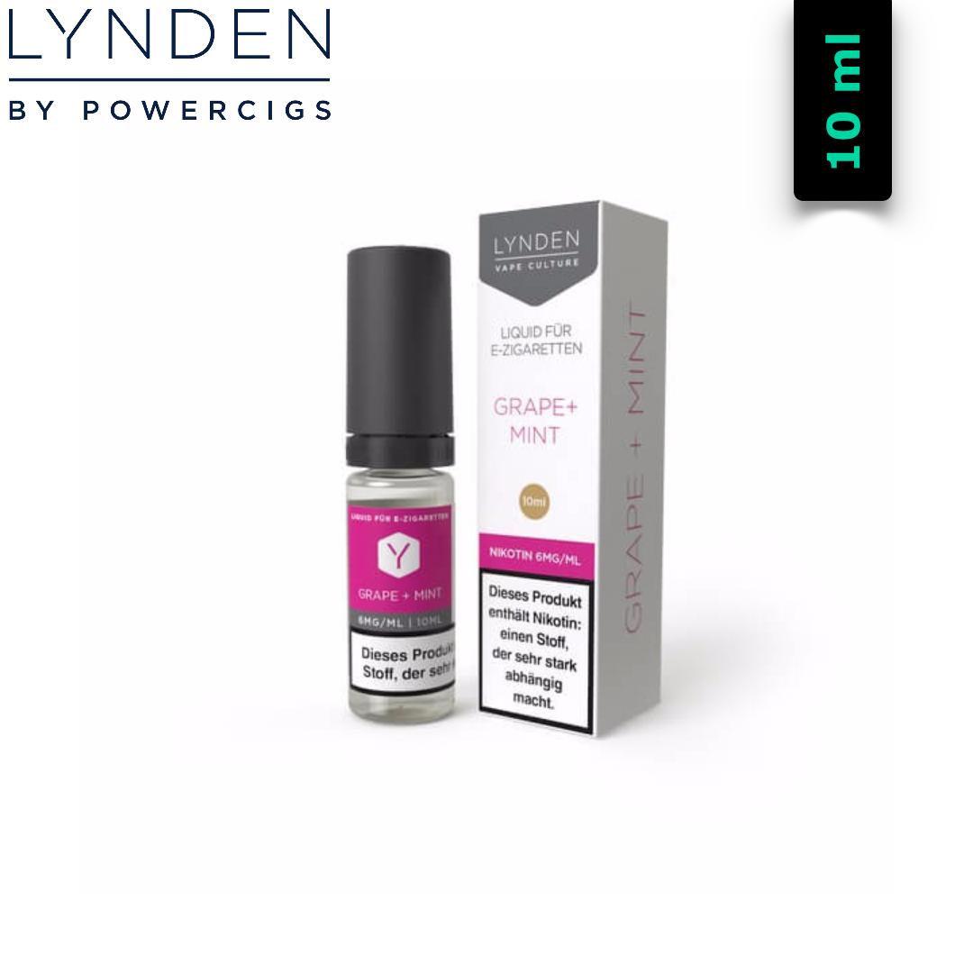 Lynden Liquids & Hardware Grape + Mint Liquid 10 ml
