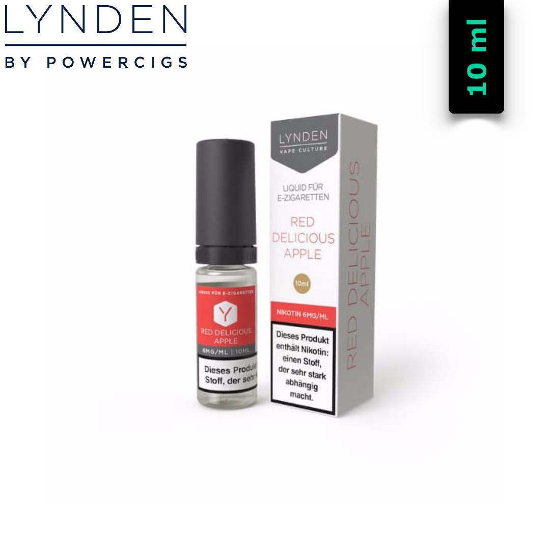 Lynden Liquids & Hardware Red Delicious Apple MTL E-Liquid 10 ml