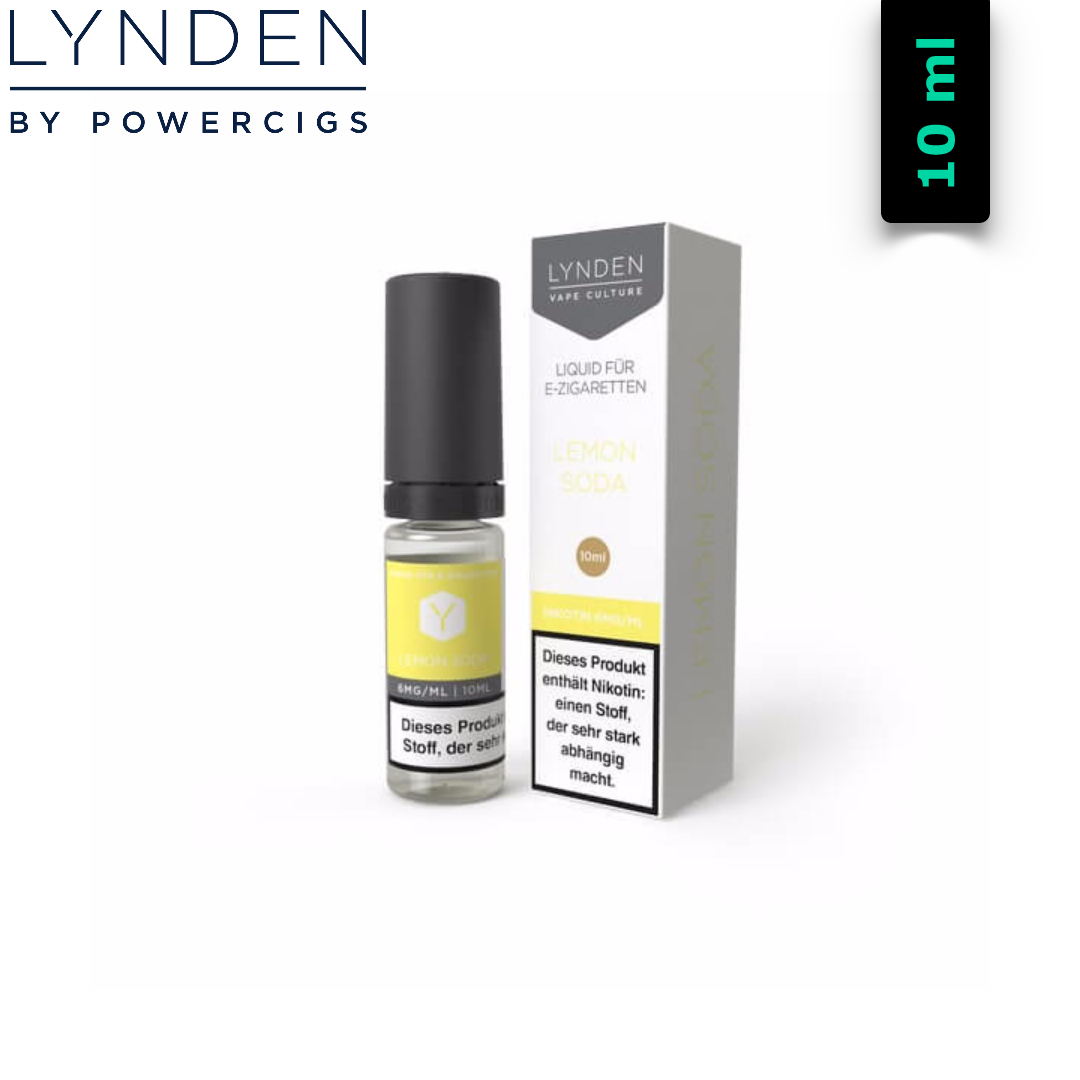 Lynden Liquids & Hardware Lemon Soda MTL E-Liquid 10 ml