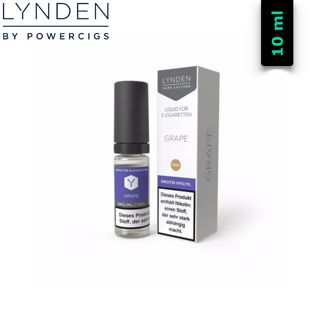 Lynden Liquids & Hardware Grape MTL E-Liquid 10 ml