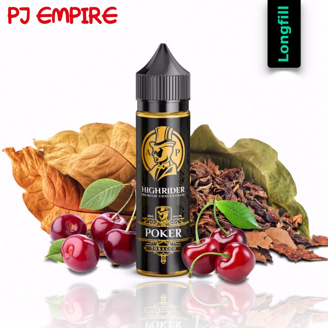 PJ Empire Highrider Line - Poker Longfill Aroma 20 ml