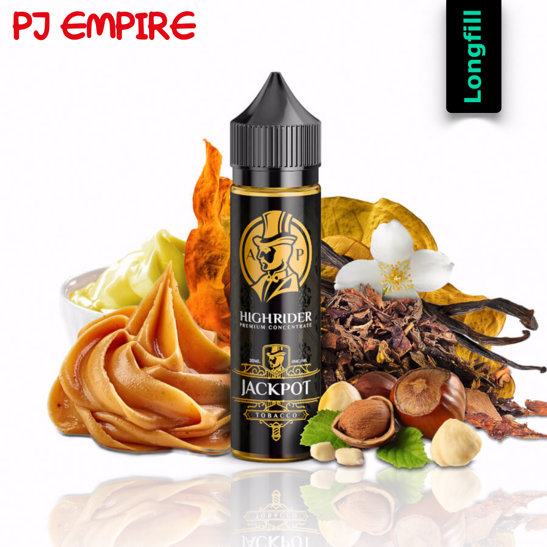 PJ Empire Highrider Line - Jackpot Longfill Aroma 20 ml