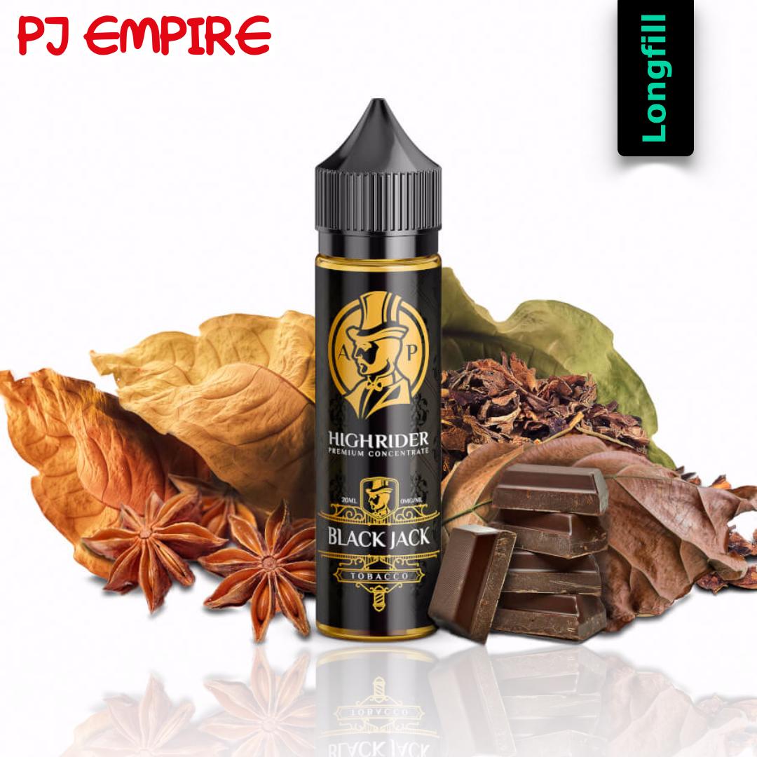 PJ Empire Highrider Line - Black Jack Longfill Aroma