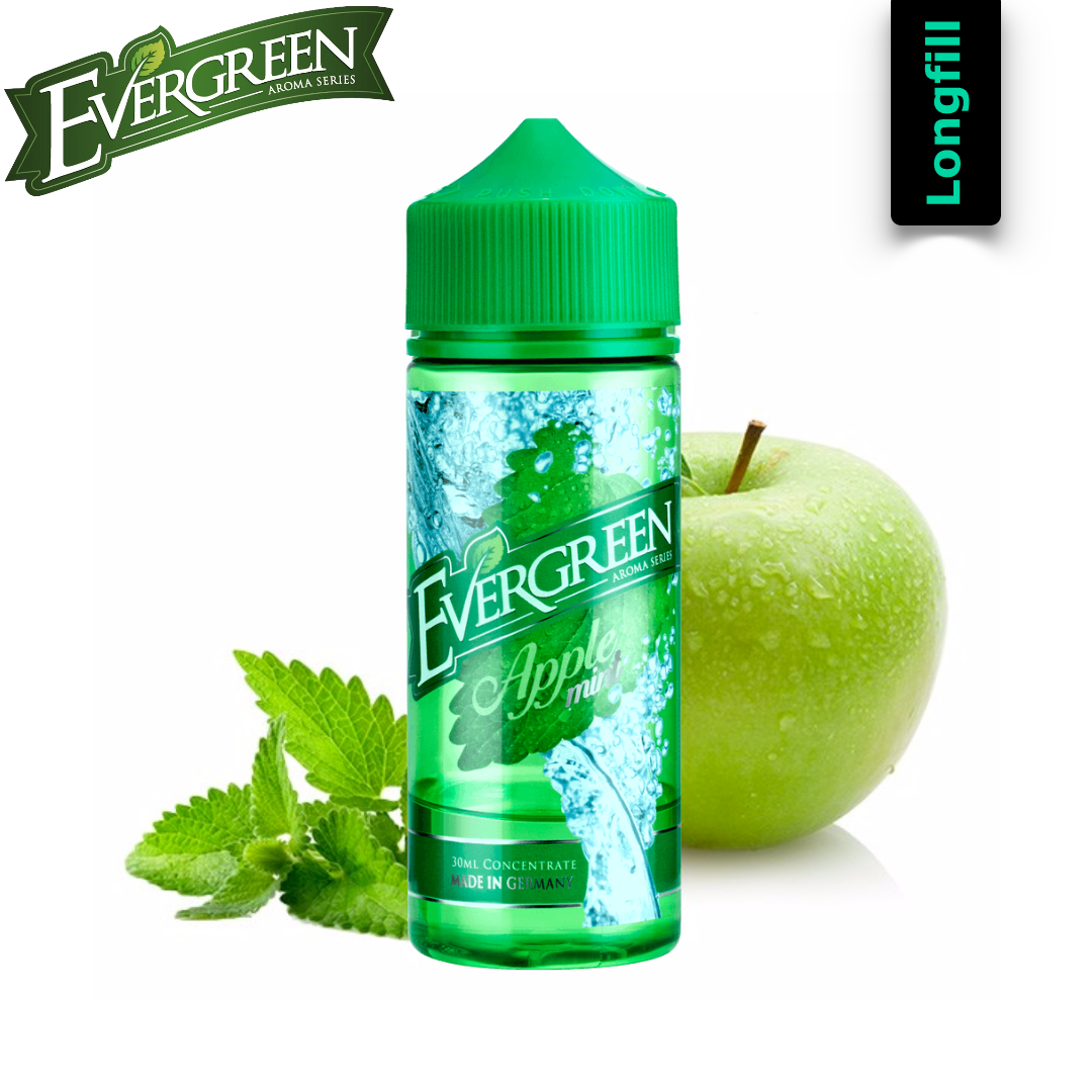 Evergreen Apple Mint Longfill Aroma 30/120 ml