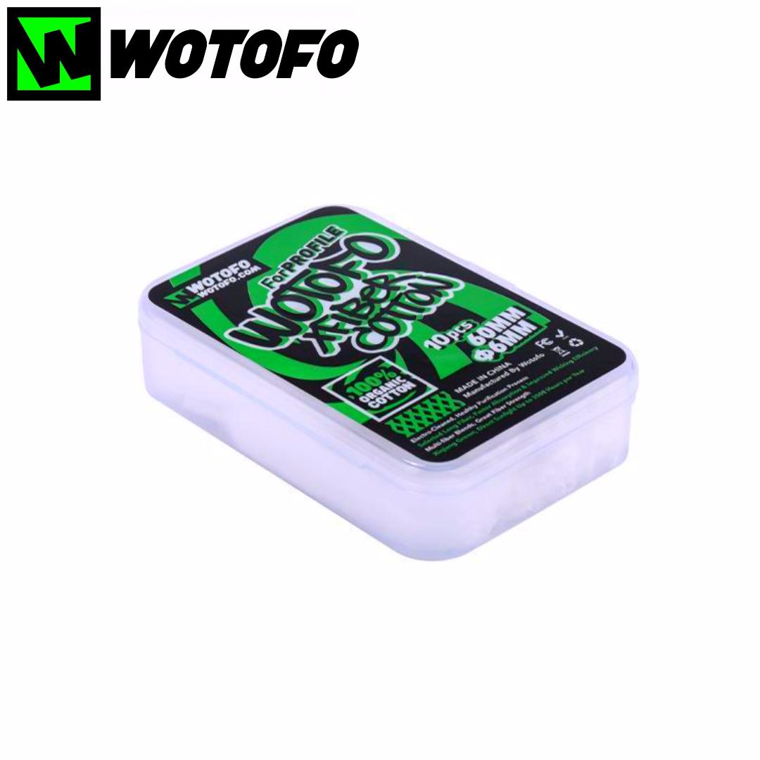 Wotofo Xfiber 10er Pack Watte Sticks