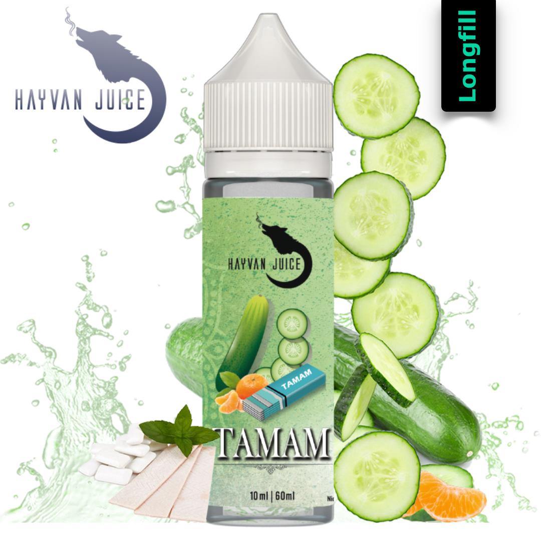 Hayvan Juice Tamam 10 ml Longfill Aroma