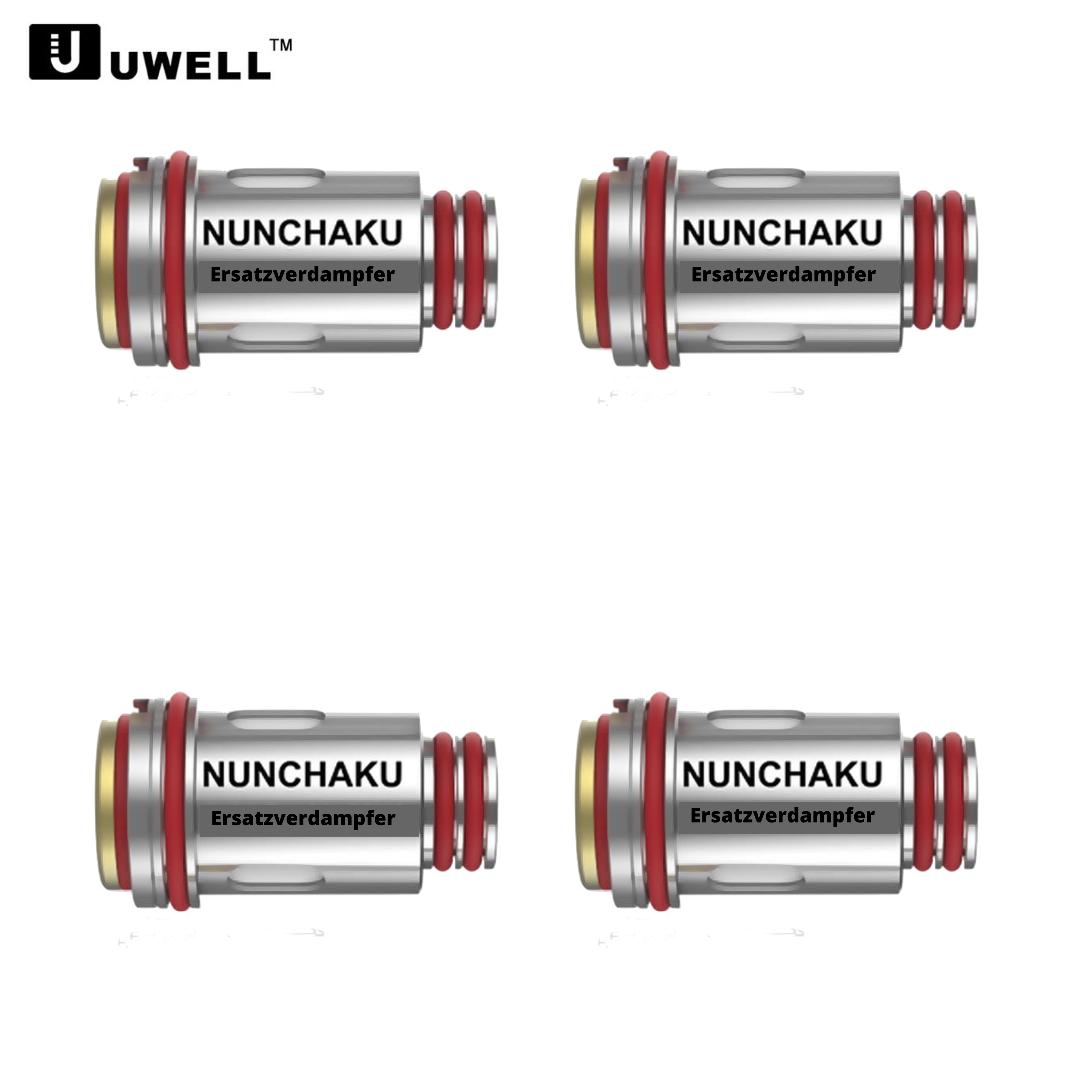 Uwell Nunchaku Mesh Coils (4er Pack) Ersatzverdampfer