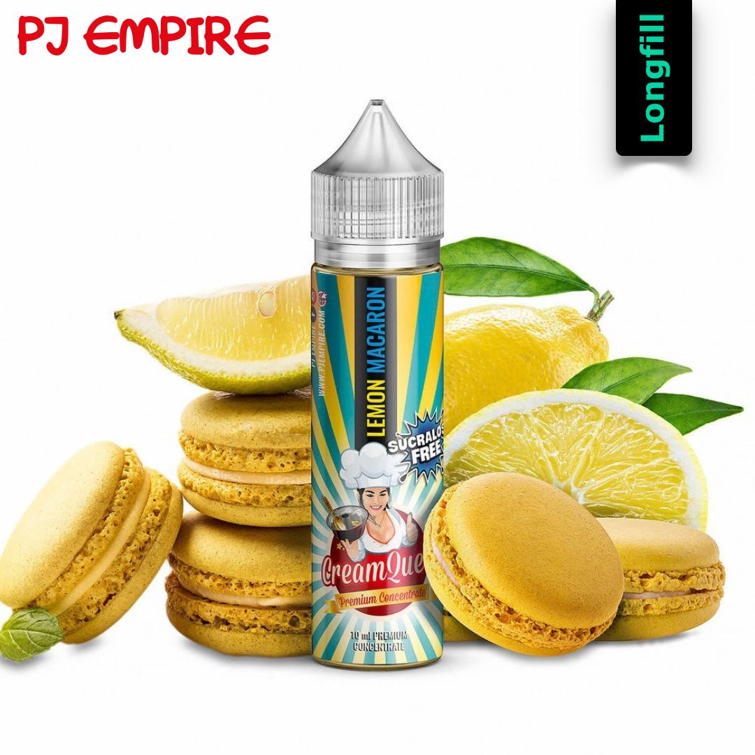 PJ Empire Lemon Macaron 10 ml Longfill Aroma