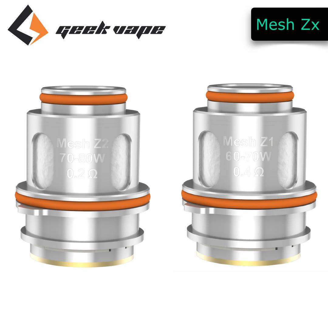 Geek Vape Zeus Verdampfer Mesh Coils Z1 + Z2 (5er Pack)