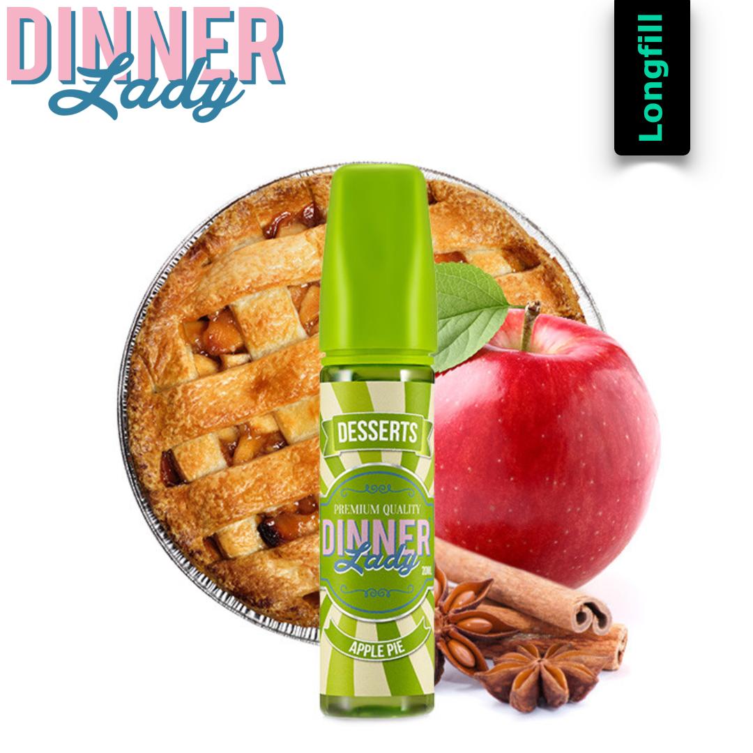 Dinner Lady Apple Pie 20 ml Longfill Aroma