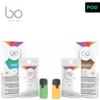 BO Vaping BO LIQUID CAPS Mint Arctical & Tobacco Gold RX