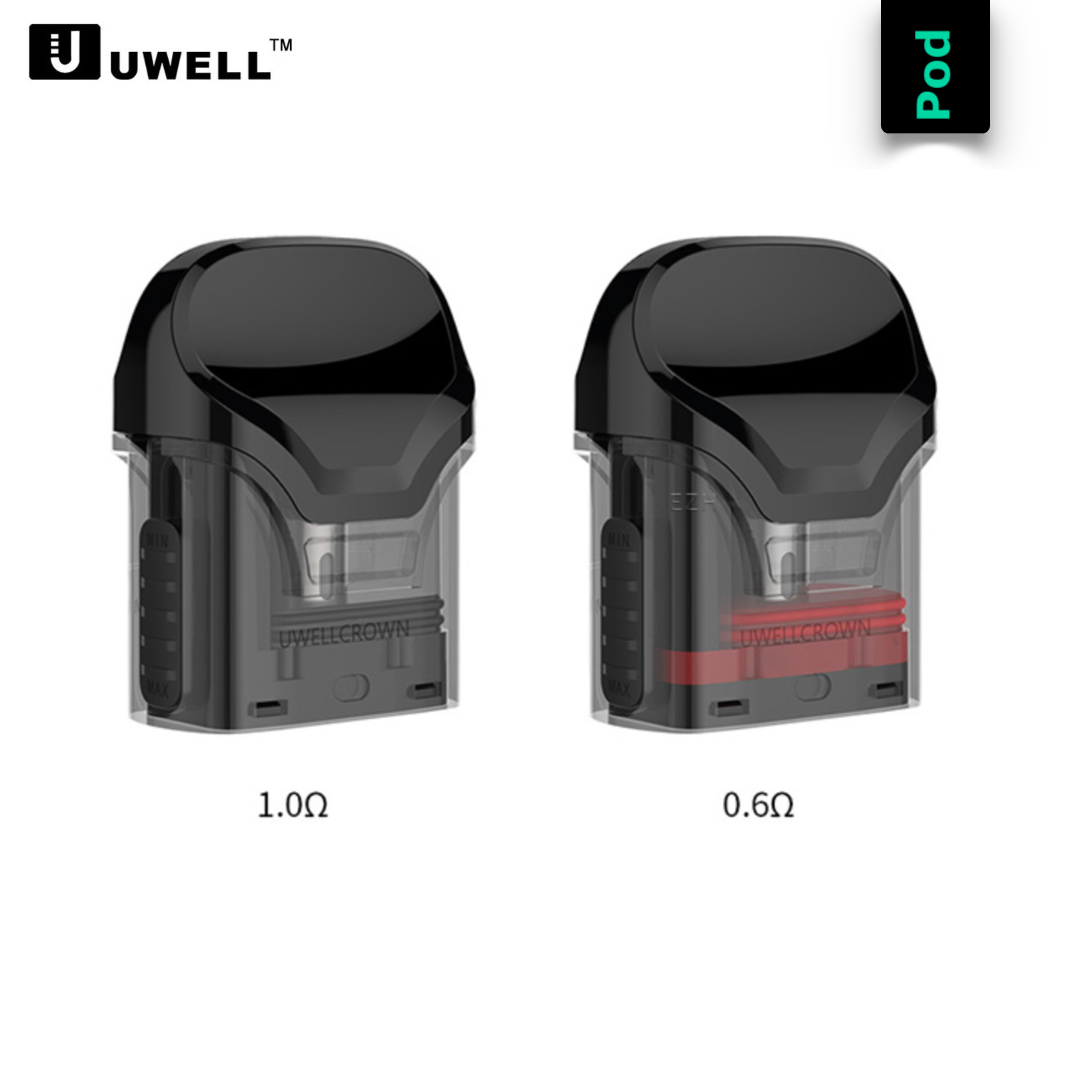 Uwell Crown Pod Ersatz Pod (2er Pack)