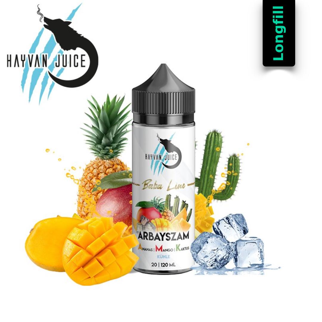 Hayvan Juice Baba Line -  Arbayszam  A.M.K. 20 ml Longfill Aroma