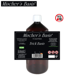 Mischer´s Basis VG Trick Basis - Ethanol Base 1000 ml
